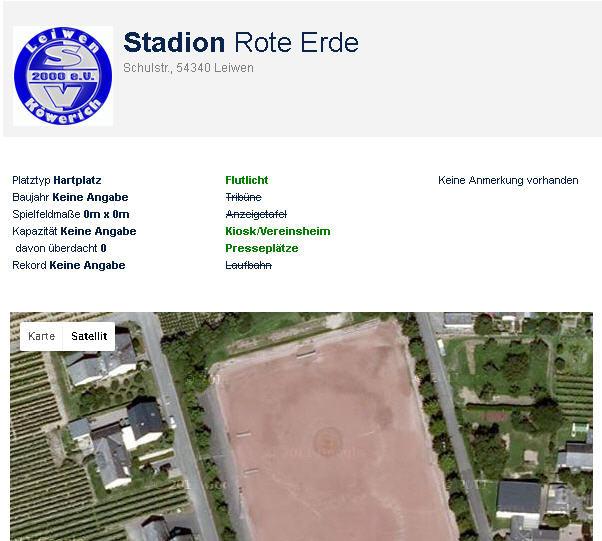 Vorschau 19. Spieltag: Stadion Rote Erde –  SV Leiwen-Köwerich vs. TuS Reinsfeld