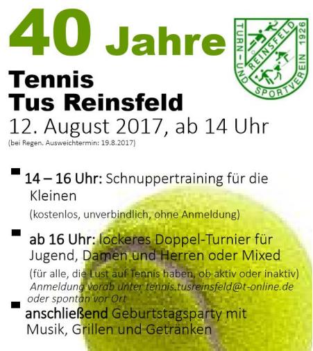 40jahre tennis